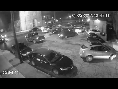 Cleveland gang-related shootout captured on video