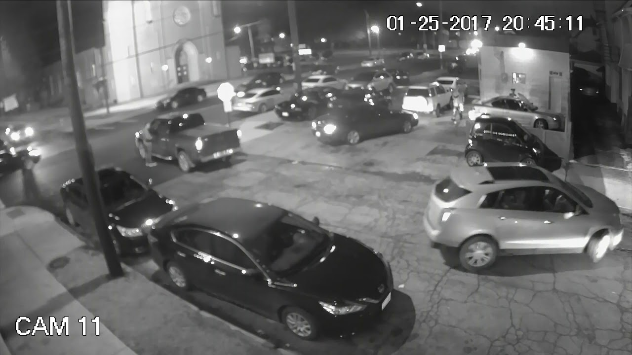 Download Cleveland gang-related shootout captured on video