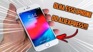 OLHA ESSE IPHONE DO ALIEXPRESS!! UNBOXING *vale a pena?*