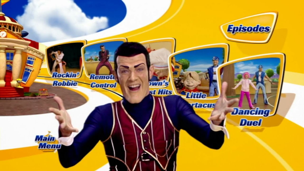LazyTown - Get Up and Move Game (Broken) by ...