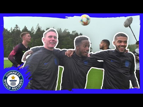 Ryan Sessegnon, Dean Henderson and Jake Clarke-Salter take on 3 GWR titles - Guinness World Records