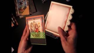 Pocket Scrapbook Mini Album Tutorial - Part 2 (Free tutorial)