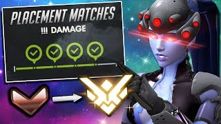 Unranked to Grandmaster: Widowmaker ONLY (Educational) - Overwatch Ep. 1