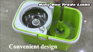 nine one trade links provides cleaning solutions with spin mop series