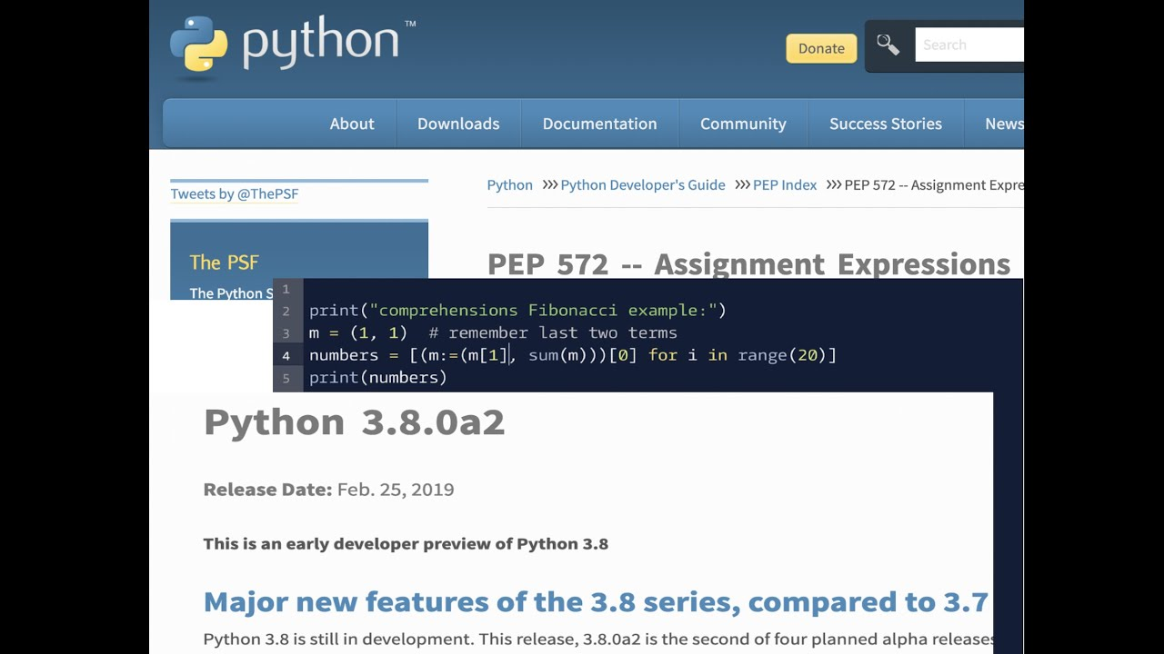 New Python 3 8 Assignment Expression Feature