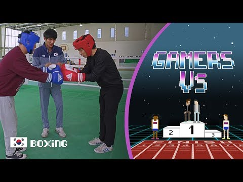 Boxing Medallist Lee Ok-Sung Teaches Gamers a Lesson | Gamers Vs.