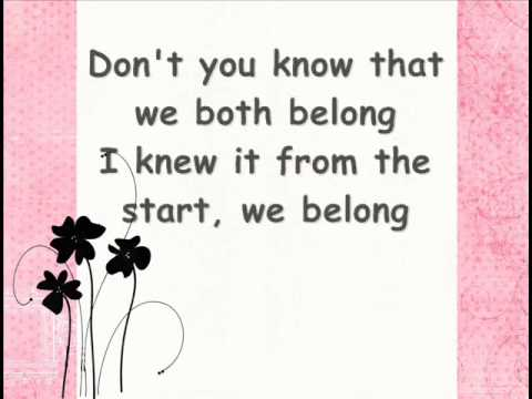 Toni Gonzaga - We Belong [LYRICS]