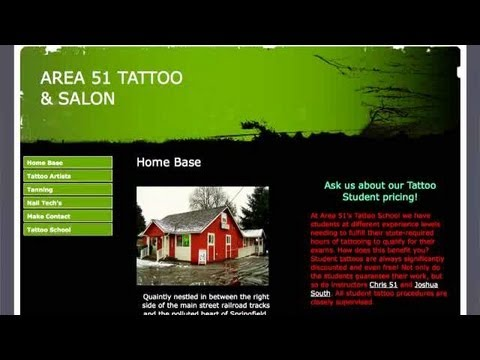 How To Get A Tattoo With Area 51 Tattoo | Tattoos