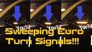 Easy Install: B8.5 Audi A4, S4 Dynamic Sweeping Euro LED Turn Signals (B8 & B8.5 models vary, A5)