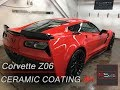 Chevrolet Corvette Z06 - RS Ceramic Coating & Professional Car Detailing Treatment