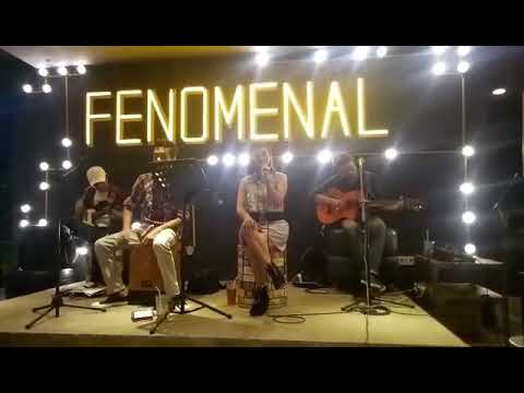 "Band cafe jakarta ""sayang - via vallen"" cover by cyber band @ warunk fenomenal"