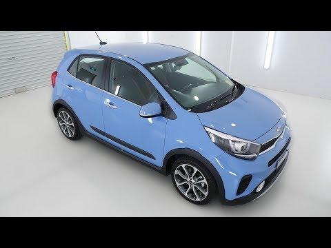 KIA PICANTO X-Line AO Edition Alice Blue Auto Hatchback K378712