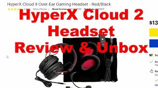 HyperX Cloud 2 Over the Ear Gaming Headset