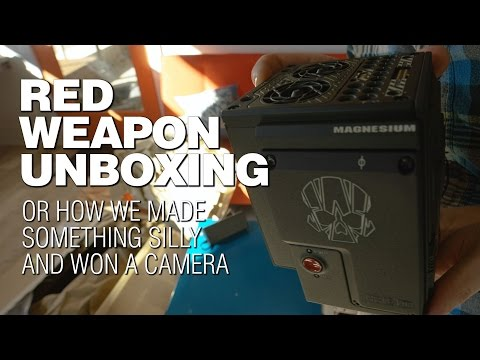 Red Weapon 6K Unboxing (or How We Won a Camera in 48 Hours)