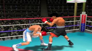 PS2-Hajime no Ippo 2 Victorious Road Gameplay