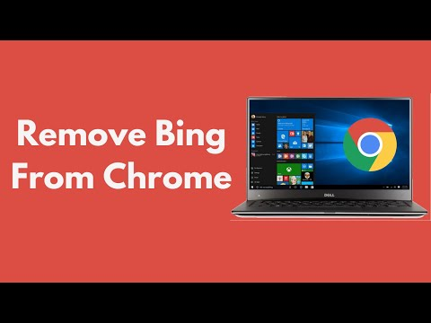 How To Remove Bing From Google Chrome Windows & Mac UPDATED