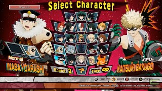 How to unlock all characters 100% my hero one's justice | save game 100%