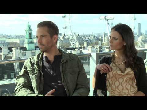 Fast & Furious 6 - Paul Walker & Jordan Brewster Interview Part 2