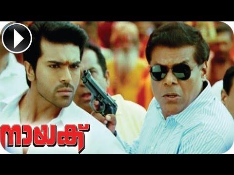 Naayak | Malayalam Movie 2013 | Ram Charan Teja Ashish Vidyarthi Action Scene [HD]
