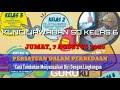 Gambar cover KUNCI JAWABAN SBOTV HARI INI | JAWABAN SBO TV HARI INI KELAS 6 SD JUMAT 7 AGUSTUS 2020