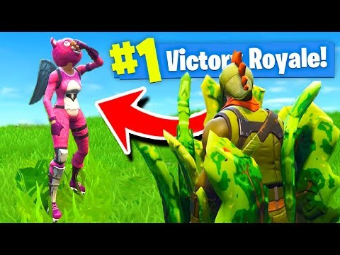 500 IQ HIDING SPOT In Fortnite Battle Royale!