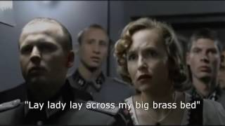 Hitler discovers Bob Dylan won the Nobel Prize for Literature