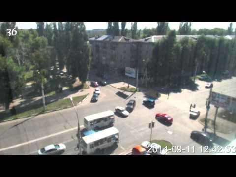 Авария на Ленинском проспекте Воронеж