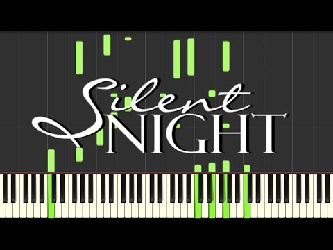 Silent Night (Christmas Song) - Synthesia / Piano Tutorial