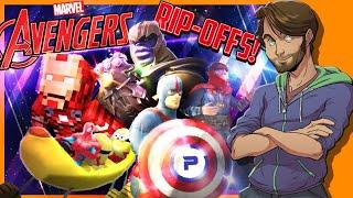 WORST Marvel Avengers RIPOFFS & BOOTLEGS! - SpaceHamster