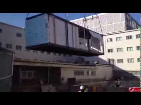 Steel and Concrete Modular Building