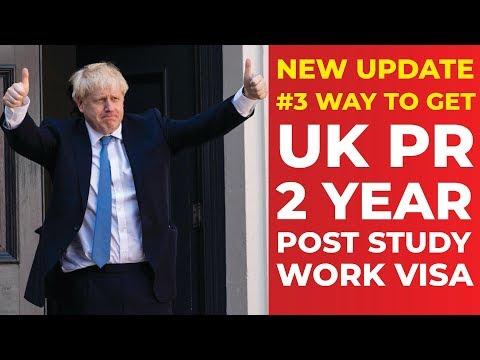 UPDATE : 3 Way to Get UK PR   2 Year Post Study Work Visa   International Students