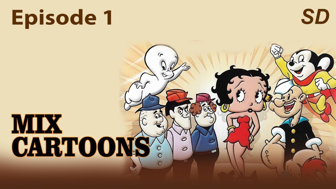 Mix Cartoons Episode 1   Short Cartoons Collections   Popeye the Sailor Man   3 Pigs   Looney Tunes