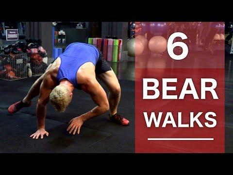6 Different Bear Walk Variations