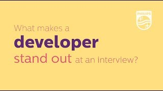 Philips software leaders' job interview tips for developers
