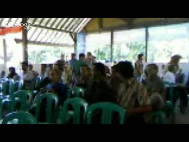 Pembukaan Pelatihan Desa di #RDI
