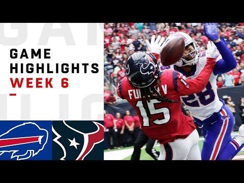 Bills vs. Texans Week 6 Highlights | NFL 2018