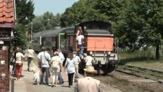 Train touristique de la vallée de l' Aa (62) Arques-Lumbres (petit train)