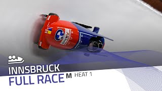 Innsbruck | BMW IBSF World Cup 2020/2021 - 2-Man Bobsleigh Race 1 (Heat 1) | IBSF Official