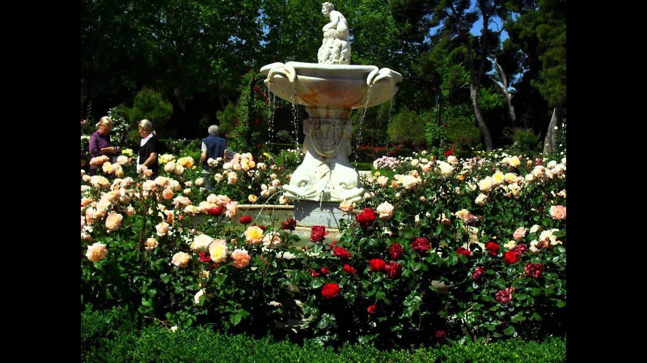 Jard n del retiro madrid rosaleda hd 3d arte y jardiner a dise o de jardines youtube - Diseno jardines madrid ...