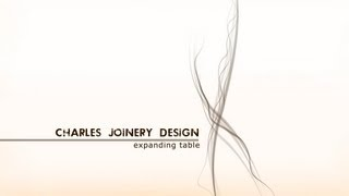 Charles Joinery Design Ltd - Expanding Table