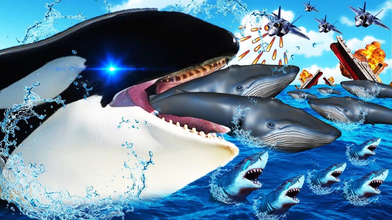 UNA ORCA DEVORA A TODAS LAS BALLENAS DEL MAR | TASTY PLANET FOREVER