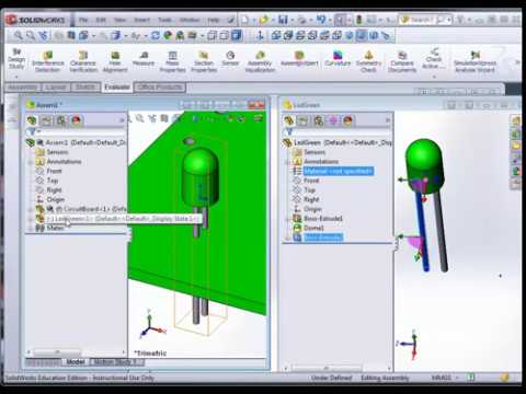 SolidWorks - Circuit Board Assembly: Part I