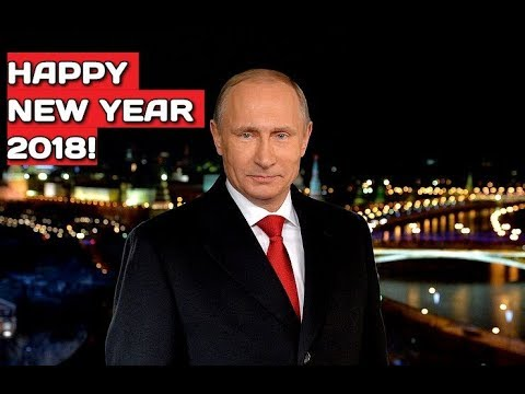 BREAKING: Putin's New Year Address 2018 - Tell Words of Love and Care to Each Other