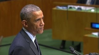 Obama addresses United Nations General Assembly