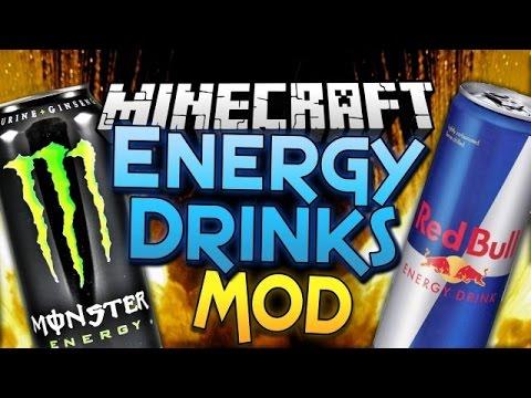 minecraft  eğlenceli mod tanıtımı  enerji içeceği modu  redbullmountain dewmonster