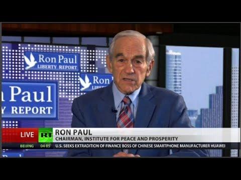 Ron Paul: Arrest of Huawei exec will leave US powerless & broke