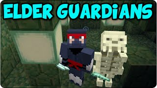 Minecraft PS4 Race To The Elder Guardians -Ocean Monument Speed Run Let