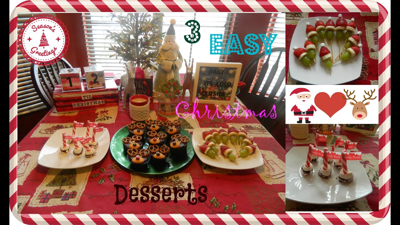 3 Easy & Fun Christmas Desserts| Pinterest Inspired - YouTube