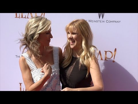 Melissa Gisoni and Jane Buckingham LEAP! Premiere Red Carpet