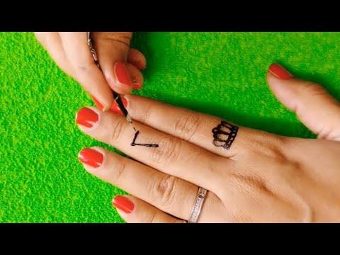 Tattoo idea with black henna #shorts - Shama Art
